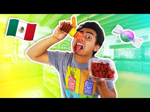 GUAVA JUICE TRIES MEXICAN SNACKS!