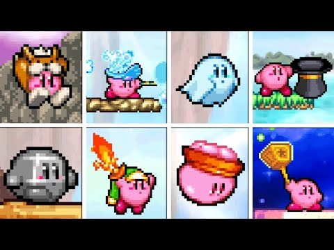 Kirby: Squeak Squad - All Copy Abilities