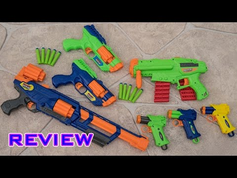 [REVIEW] Dart Zone Blasters! Legendfire, Havoc, Blitzfire, and Tri-Fire!