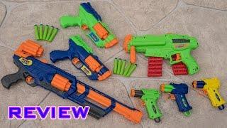 [REVIEW] Dart Zone Blasters! Legendfire, Havoc, Blitzfire, and Tri-Fire!