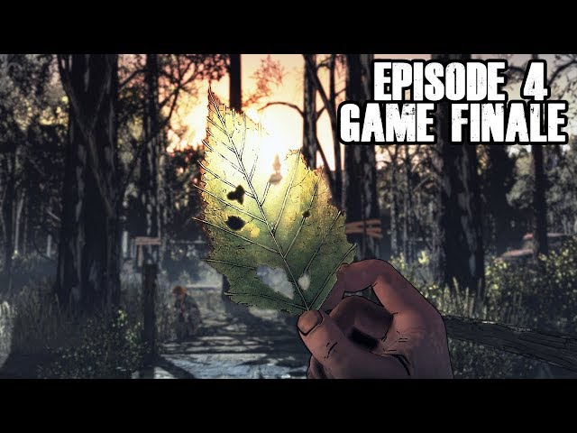 The Walking Dead The Final Season - EVERYTHING ENDS - Episode 4 FINALE
