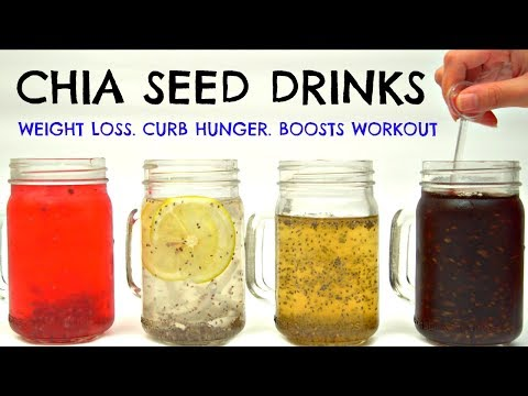 Chia Seed Drinks for Weight Loss & Curb Hunger | Joanna Soh