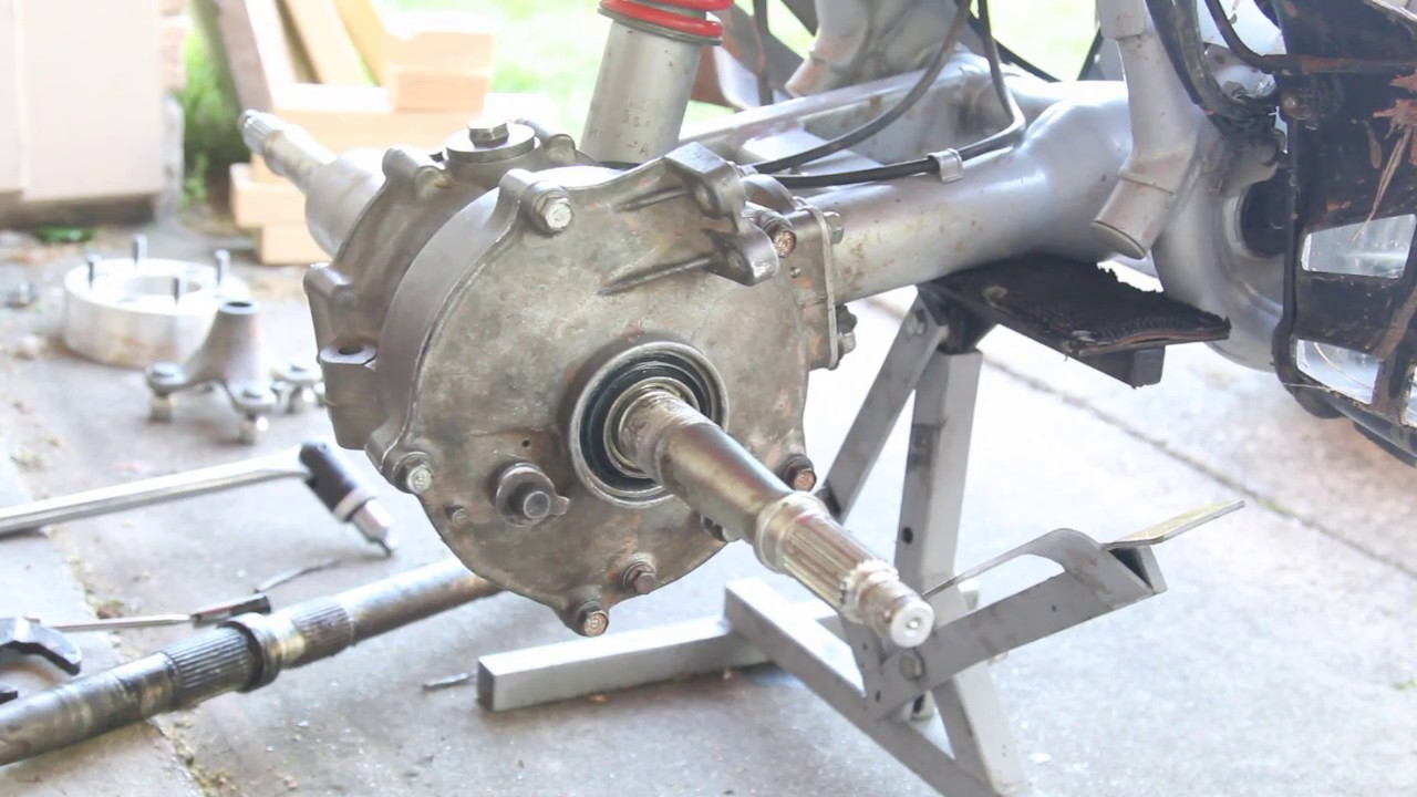 hight resolution of trx250ex axle removal