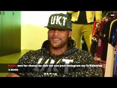 Booba : met les choses au clair sur son post Instagram sur la Palestine