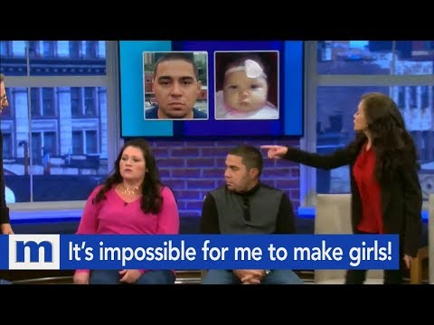 I Can't Make Girls...Not My Baby!   The Maury Show
