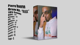 [FREE] PI'ERRE BOURNE DRUM KIT 2019 - 'R.O.D.' [195 SOUNDS] [FREE DOWNLOAD] [100 SUB SPECIAL]