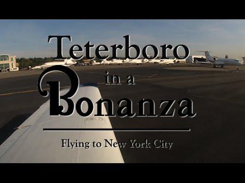 Teterboro in a Bonanza