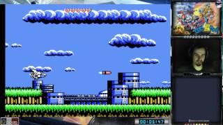 Robocco Wars прохождение 100%   Игра на (Dendy, Nes, Famicom, 8 bit) 1991. Live cтрим HD [RUS]