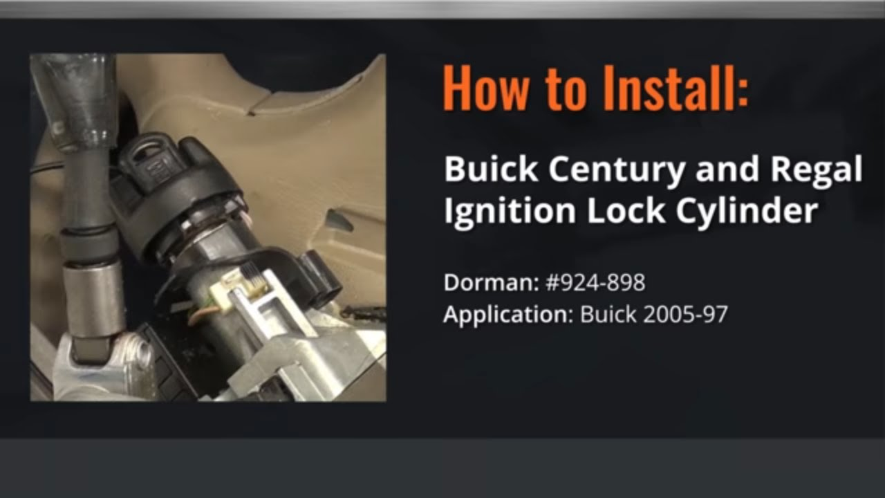 1999 Buick Century Ignition Key