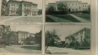 Texas A & M University Postcards from Early 1940's - WWII Era