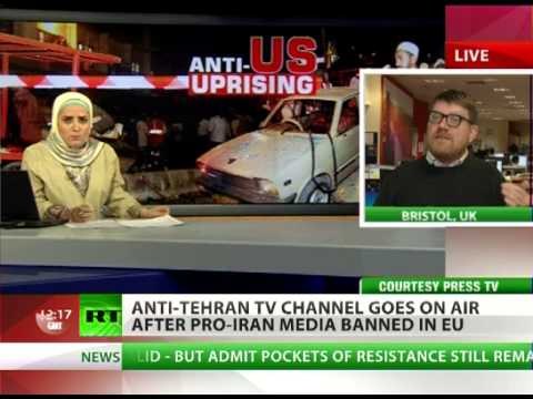 Anti-Tehran TV launches as Iran state media gets EU boot