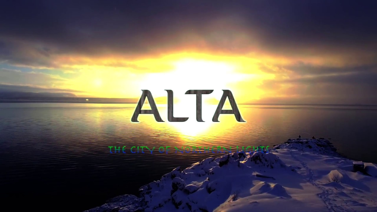 Download BEST OF NORWAY - Alta city with an Inspire 1