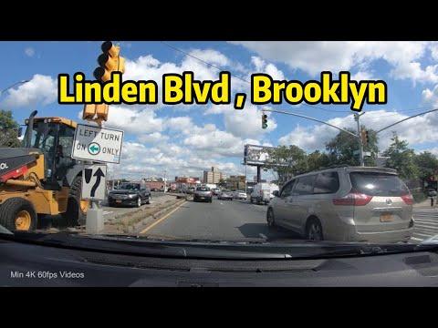 【4K】Driving Brooklyn: Linden Blvd to JFK Airport Terminal 1