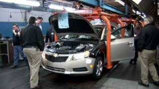 Chevrolet Cruze Manufacturing Footage