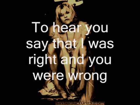 Courtney Love - Mono - Lyrics