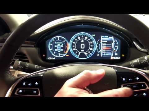 Cadillac XTS LCD Instrument Cluster