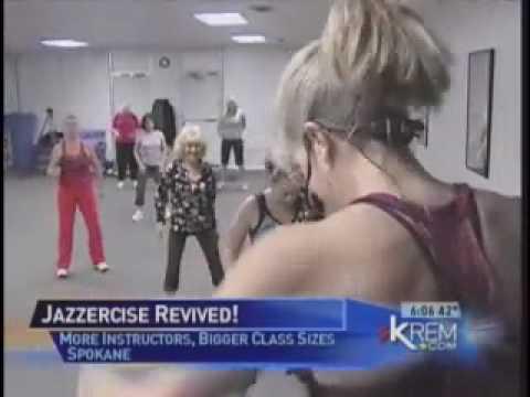 Jazzercise  on Spokane's KREM TV