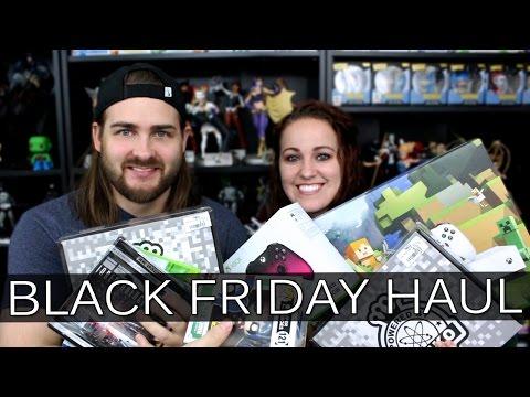 Black Friday Haul 2016 - Funko I Video Games I Movies