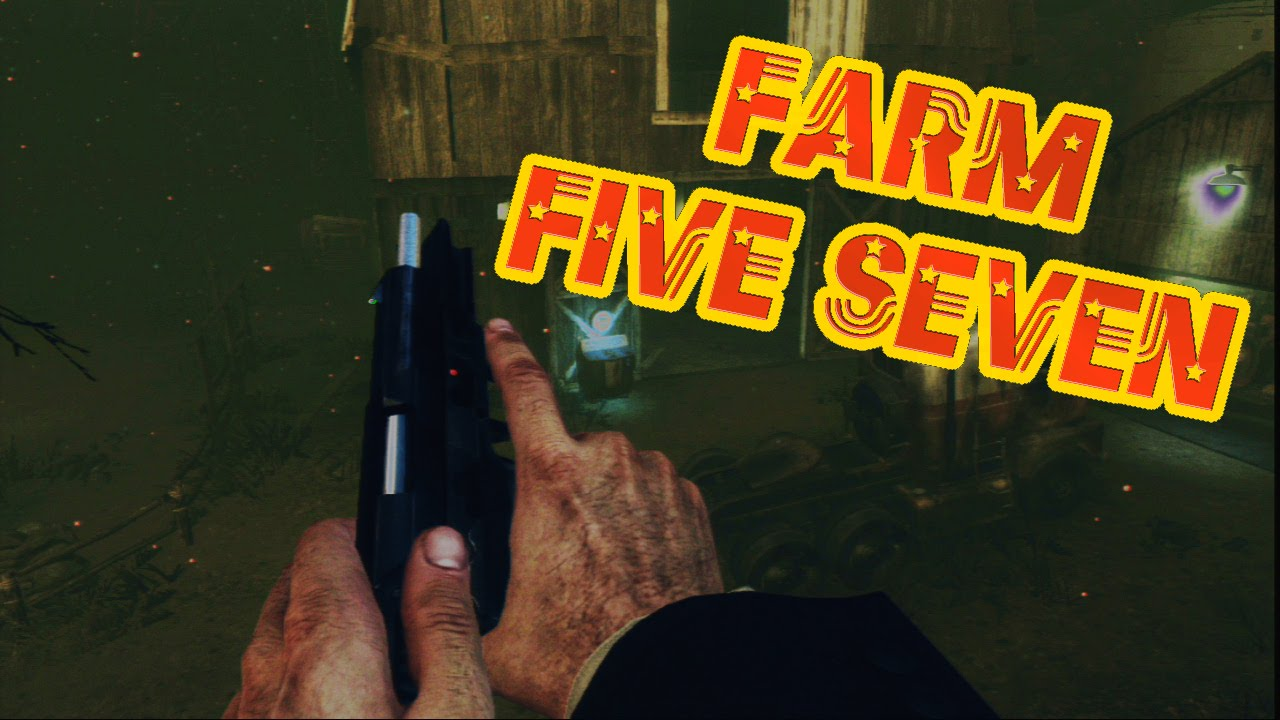 Black Ops 2 Farm Five Seven Gameplay