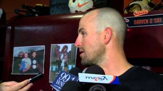 Orioles players and coaches talk about Baltimore's outfield