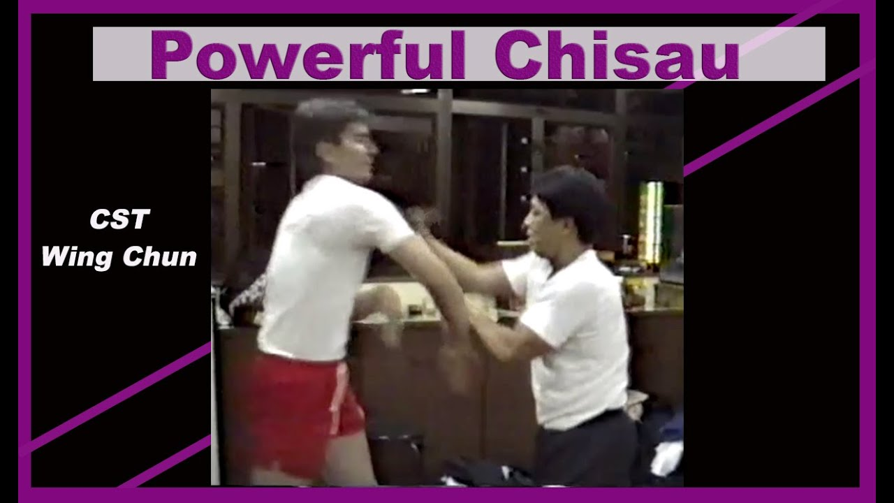 Wing Chun's Chisau compilation of a CST student (Akeung)