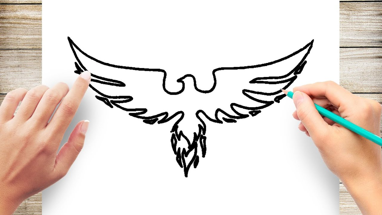Phoenix Coloring Page - Ultra Coloring Pages | 720x1280