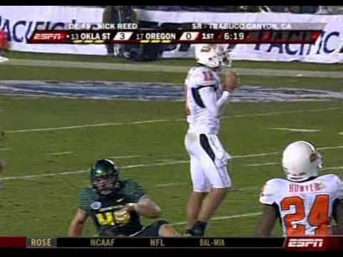 2008 Holiday Bowl - Oregon Ducks vs Oklahoma State Cowboys
