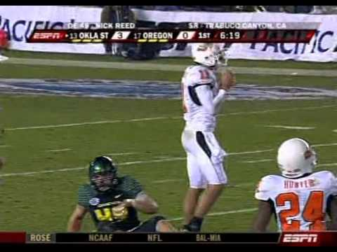 2008 Holiday Bowl  Oregon Ducks vs Oklahoma State Cowboys