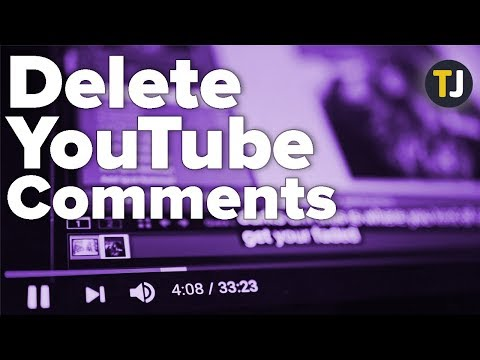 How To Delete All Your Comments On YouTube!
