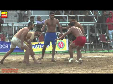 JAGRAON (Ludhiana) !!  KABADDI CUP - 2015 !! 75 Kgs.  QUARTER FINALS !!  Full HD !!