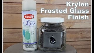 Review It & DO IT! Krylon Frosted Glass Finish