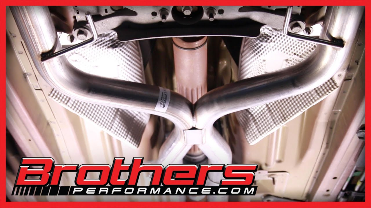 small resolution of 2005 2010 mustang v6 true dual exhaust system installation review