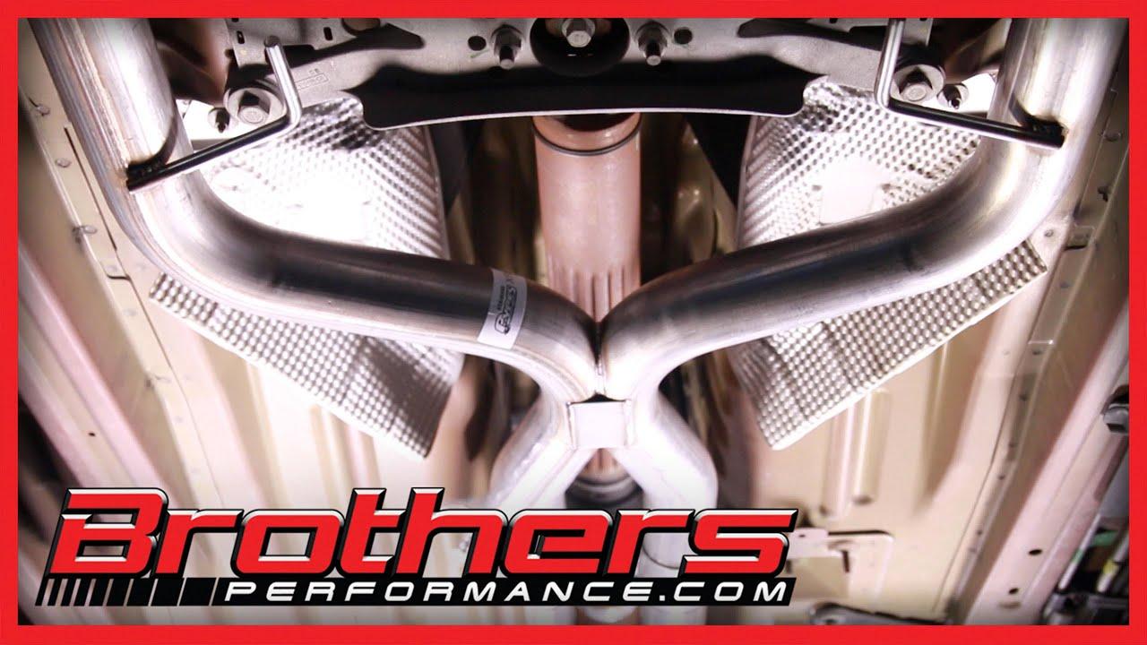 medium resolution of 2005 2010 mustang v6 true dual exhaust system installation review