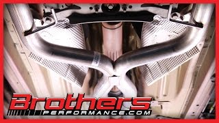 2005 2010 mustang v6 true dual exhaust system installation review