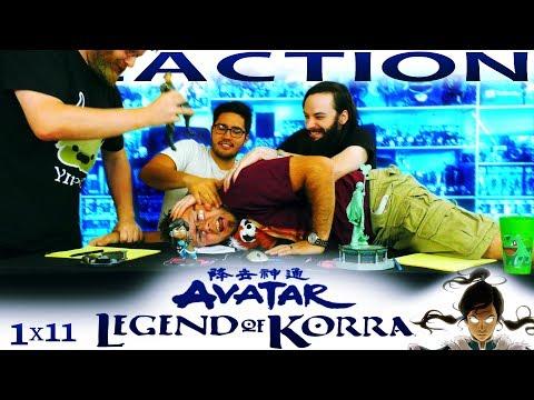 "Legend of Korra 1x11 REACTION!! ""Skeletons in the Closet"""
