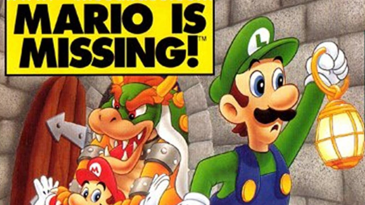 Image result for mario is missing