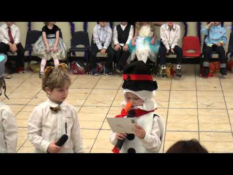 Big Apple Academy, X-mass Performance -- Ivan the Snowman