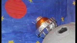 Поделка ко дню космонавтики.  Делаем луноход. Do the moonwalker.(, 2016-04-08T04:34:23.000Z)