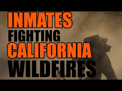 Did You Know? Prisoners Are Fighting California Wildfires