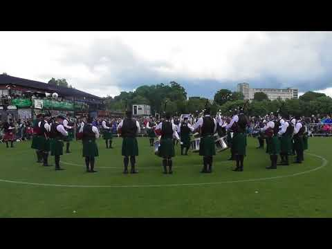 St Laurence O'Toole Pipe Band Pipe Band UK Pipe Band Championships 2018