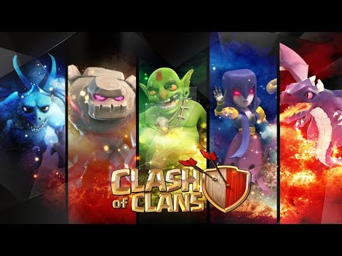 Clash of clans wallpaper for android and ios