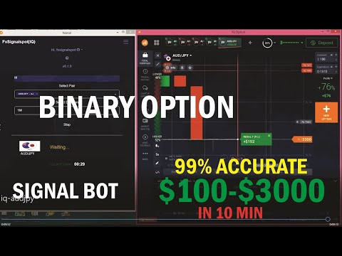 BINARY SIGNAL SOFTWARE 99% Accurate// IQ OPTIONS