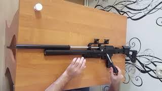 короткий огляд і раздушка рср (пцп) гвинтівки снайпер 5.5 від Крюгера. Розпакування з коробки