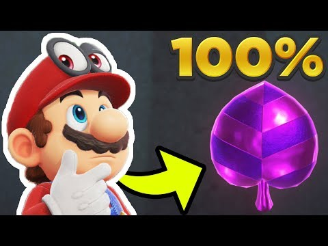 Super Mario Odyssey - Lost Kingdom ALL 50 REGIONAL COIN LOCATIONS! [100% Guide]