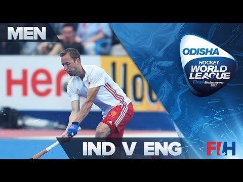 India v England - Odisha Men's Hockey World League Final - Bhubaneswar, India