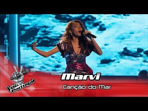 """Marvi - """"Canção do Mar""""   Live Show   The Voice Portugal"""