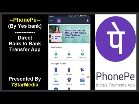 Phone Pe App  कैसे इस्तेमाल करे? -How to use PhonePe App (Bank to Bank Transfer UPI App)