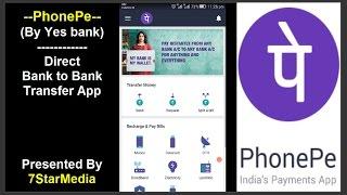 Telefoon Pe App कैसे इस्तेमाल करे? -Hoe te gebruiken PhonePe App (Bank tot Bank Overschrijving UPI App)