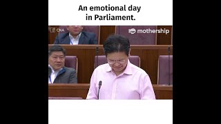 Lawrence Wong Chokes Up While Thanking Singaporeans Who Go All Out To Fight Covid 19