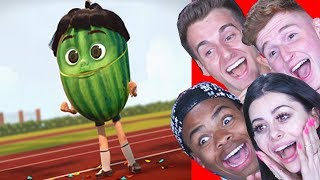 Download Reacting to the FUNNIEST Animations ft Reaction Time Infinite and Dangmattsmith Mp3 and Videos